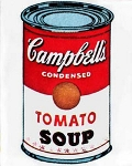 Campbell's Soup Can, par Andy Warhol
