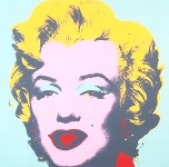 Marylin, par Andy Warhol